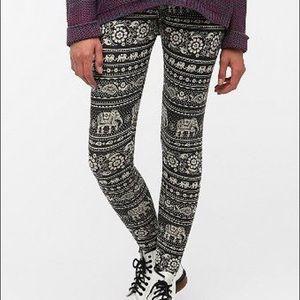 Urban Outfitters Elephant Print Leggings